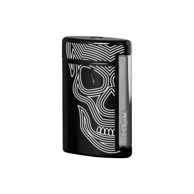 CHROME FINISH LIGHTER black